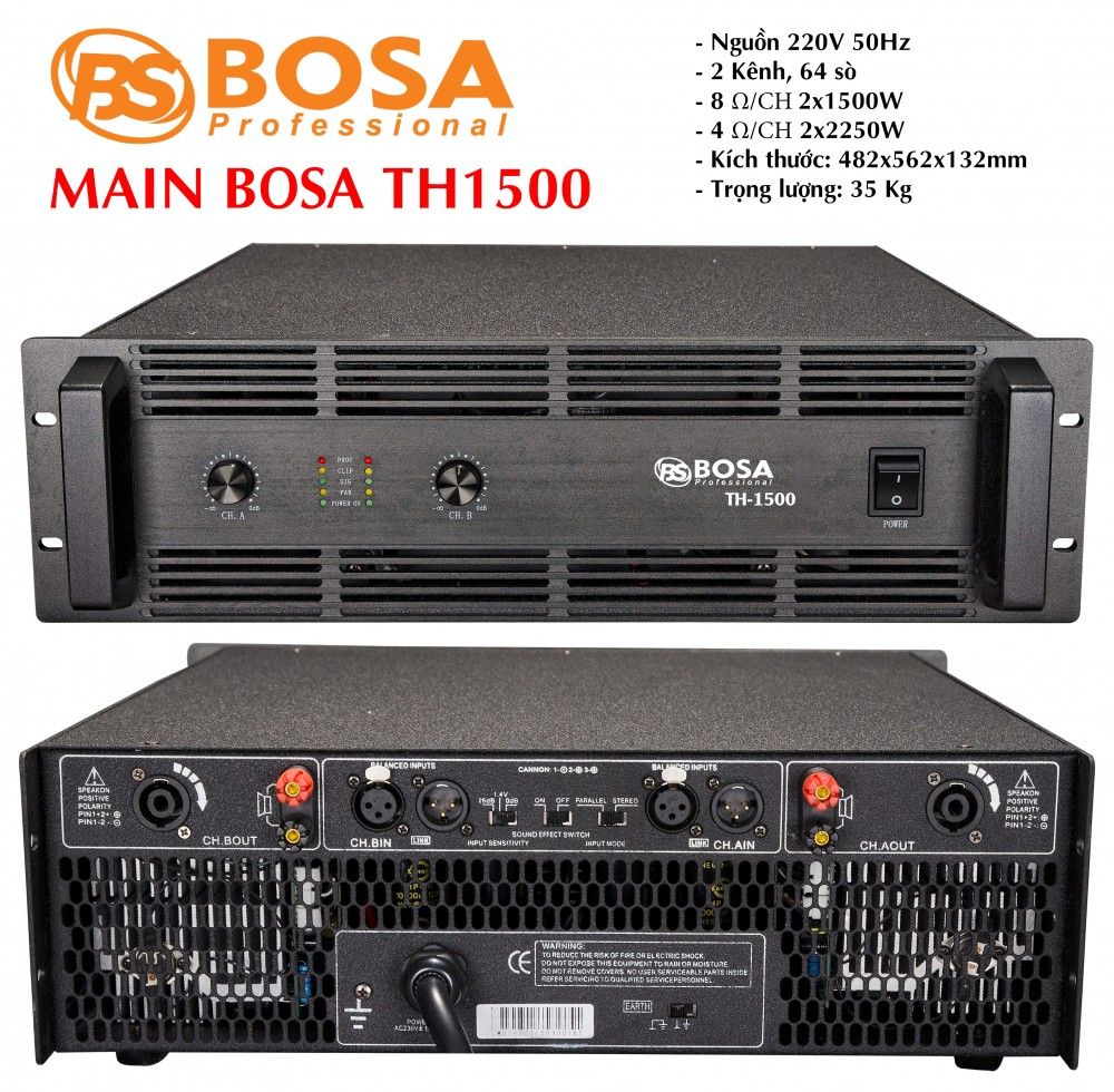 Main Bosa TH-1500
